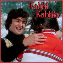 Tere chehre se nazar - Kabhi Kabhi (MP3 Format)