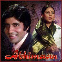 Teri Bindiya Re - Abhimaan(MP3 and Video Karaoke Format)