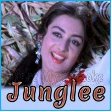 Ja Ja Ja Mere Bachpan - Junglee (MP3 and Video Karaoke Format)