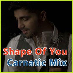 Carnatic Mix  - Shape of You - Carnatic Mix (MP3 Format)