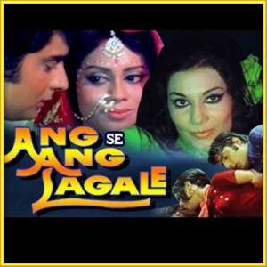 Badal Kaala    Ang Se Ang Laga Le   Kishore Kumar   Download Bollywood Karaoke Songs  