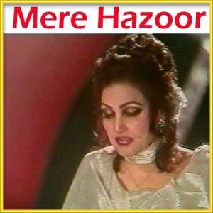 Pakistani - Humari Saanson Mein Aaj Tak (MP3 and Video Karaoke Format)