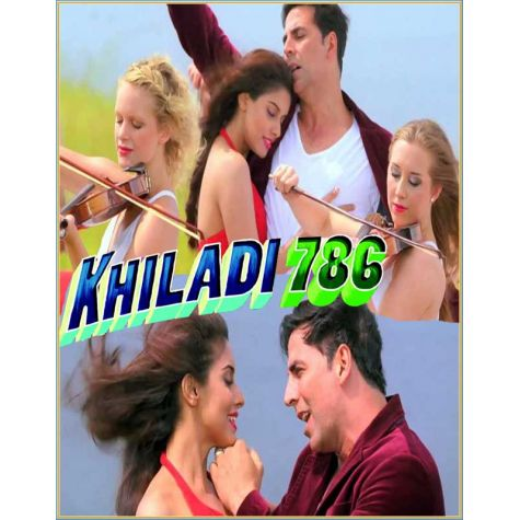 Sari Sari Raat - Khiladi786 (MP3 and Video Karaoke Format)