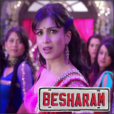Tere Mohalle  - Besharam (MP3 And Video Karaoke Format)