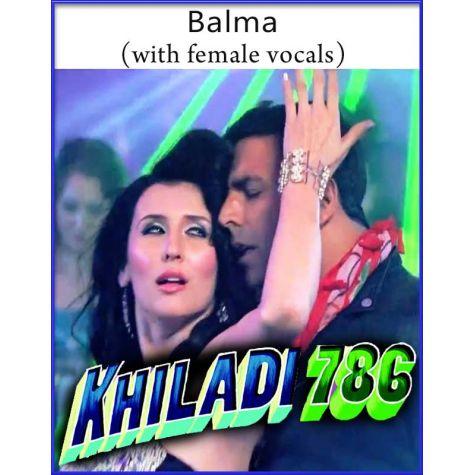 Balma (With Female Vocals) - Khiladi 786 (MP3 Format)