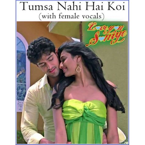 Tumsa Nahi Hai Koi (with female vocals) -Love U Soniyo (MP3 And Video Karaoke Format)