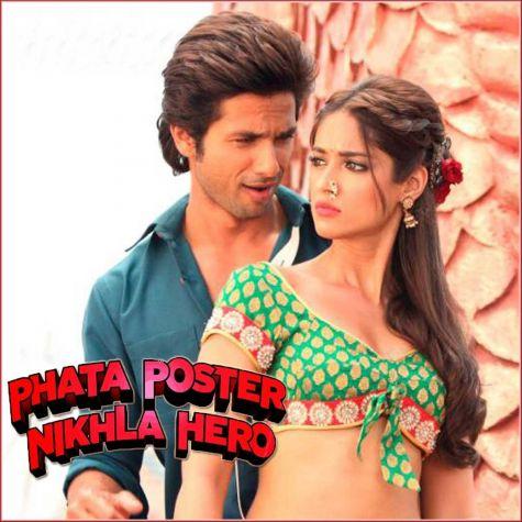 Tu Mere Agal Bagal - Phata Poster Nikla Hero (MP3 And Video Karaoke Format)