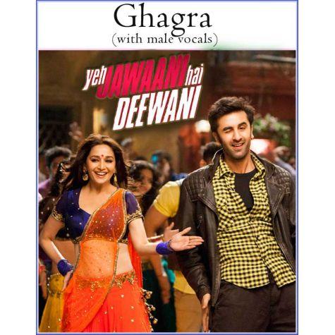Ghagra (with male vocals) -Yeh Jawaani Hai Deewani (MP3 And Video Karaoke Format)