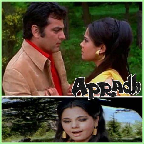 Tum Mile Pyaar Se - Apradh 1972 (MP3 And Video Karaoke Format)