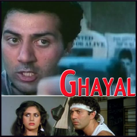 Sochna Kya Jo Bhi Hoga - Ghayal (MP3 And Video Karaoke Format)