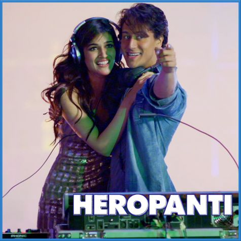 Raat Bhar - Heropanti (MP3 And Video Karaoke Format)