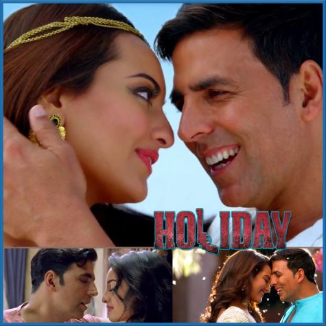 Aaj Dil Shayrana - Holiday (MP3 And Video Karaoke Format)