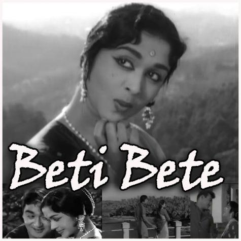 Gori Chalo Na Hans Ki Chaal - Beti Bete (MP3 And Video Karaoke Format)