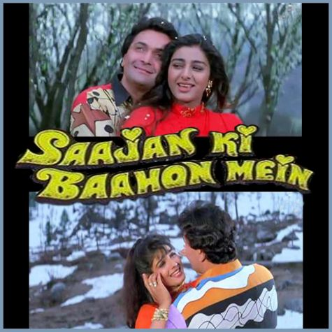 Aapke Kareeb Hum Rehte Hain - Saajan Ki Baahon Mein (MP3 And Video-Karaoke Format)