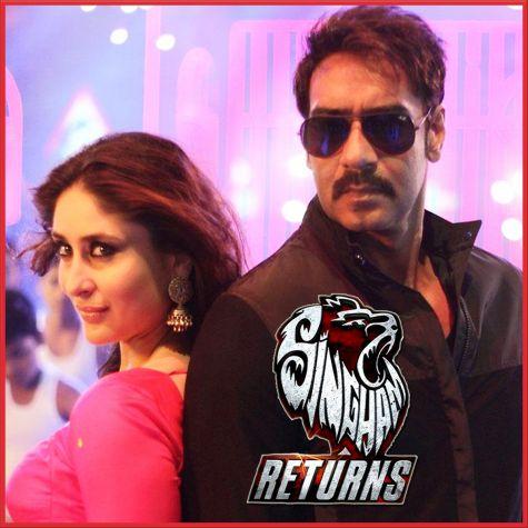 Aata Majhi Satakli - Singham Returns (MP3 And Video Karaoke Format)