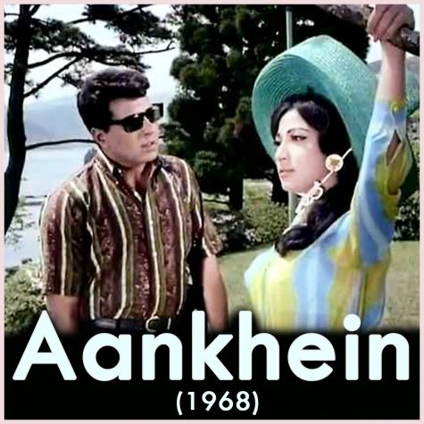 Milti Hai Zindagi Mein - Aankhein (1968) (MP3 And Video Karaoke Format)