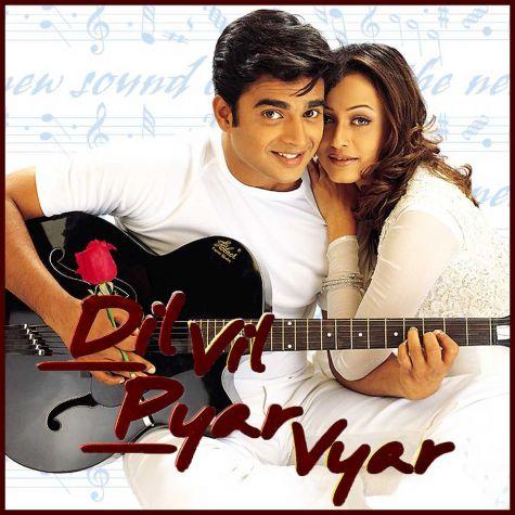 O Hansini - Dil Vil Pyar Vyar (MP3 And Video Karaoke Format)