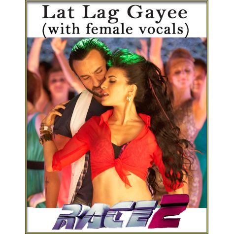 Lat Lag Gayee (With Female Vocals) - Race-2 (MP3 And Video Karaoke Format)
