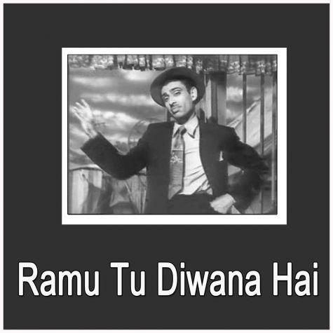 Zindagi Hai Tadapna - Tadapna Hai Zindagi - Ramu Tu Diwana Hai (MP3 and Video Karaoke  Format)