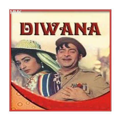 Deewana Mujhko Log Kahein - Diwana (MP3 and Video Karaoke Format)