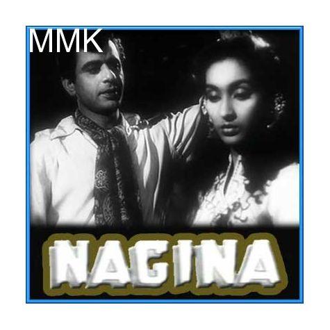 Roun Main Sagar Ke Kinare - Nagina (MP3 and Video-Karaoke  Format)