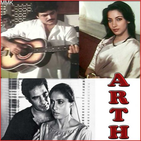 Koi Ye Kaise Bataye  - Arth (MP3 And Video Karaoke Format)