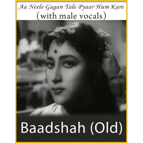 Aa Neele Gagan Tale (With Male Vocals) - Baadshah