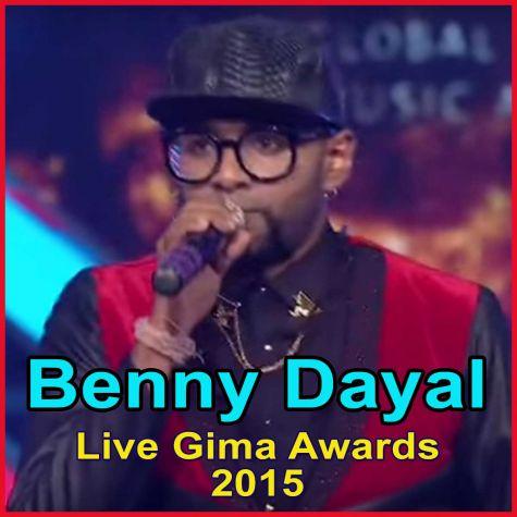 Benny Dayal Live - Gima Awards 2015