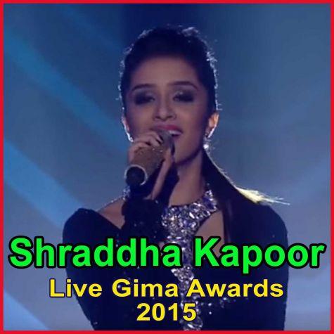 Shraddha Kapoor Live - Gima Awards 2015
