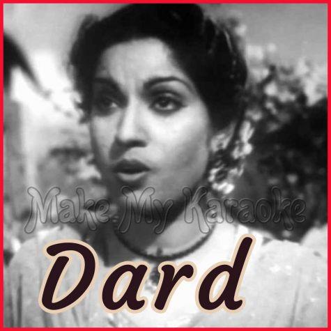 Betaab Hai Dil - Dard (MP3 and Video-Karaoke  Format)
