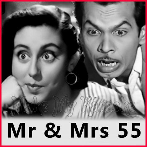 Jaane Kahan Mera Jigar - Mr And Mrs 55