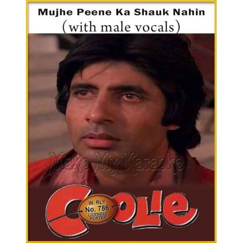Mujhe Peene Ka Shauk (With Male Vocals) - Coolie