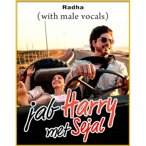 Radha (With Male Vocals) - Jab Harry Met Sejal (MP3 Format)