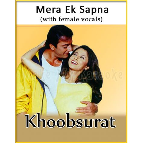 Mera Ek Sapna (With Female Vocals) - Khoobsurat (MP3 Format)