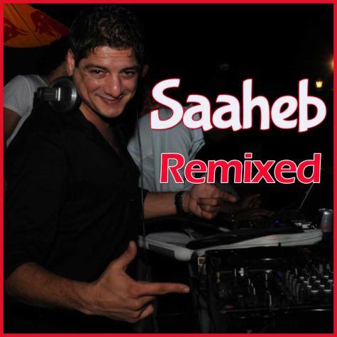 Yaar Bina Chain Kahan - Saaheb - DJ Aqueel (Video Karaoke Format)