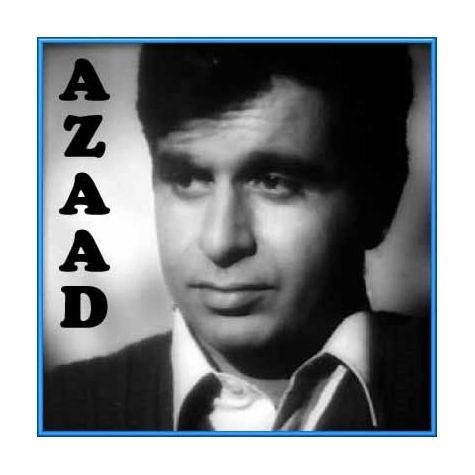 Radha Na Bole Na Bole Na Bole Re - Azaad (MP3 and Video Karaoke Format)
