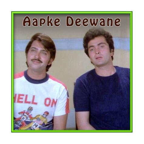 Mere Dil Mein Jo Hota Hai - Aapke Deewane (MP3 and Video Karaoke Format)