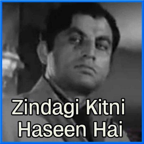 Jab Koi Payar Se Bulayega - Zindagi Kitni Haseen Hai - Pakistani (MP3 and Video Karaoke Format)