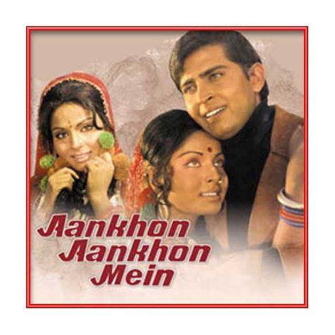 Aankhon Aankhon Mein Baat - Remix | Kishore Kumar, Asha Bhosle | Download Bollywood Karaoke Songs |