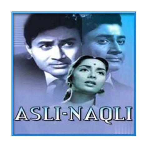 Chera Mere Dil Ne Tarane Tere Piyar Ka | Asli Naqli | Mohd. Rafi | Download Bollywood Karaoke Songs |