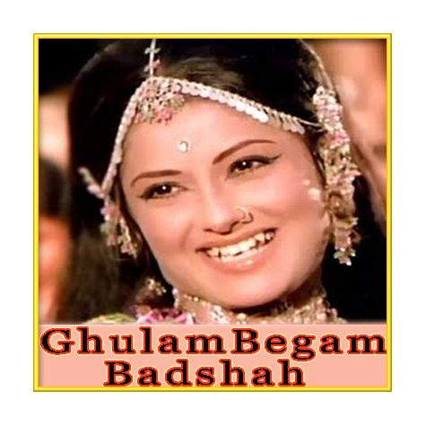 Raste Raste - Ghulam Begam Badshah (MP3 and Video-Karaoke  Format)
