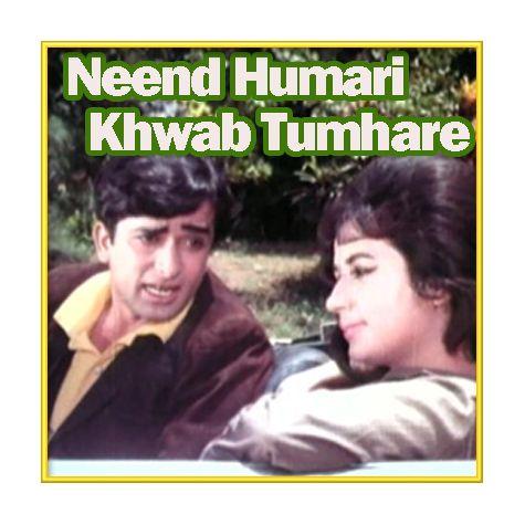 Kabhi Tera Daman Na Chodenge Hum - Neend Humari Khwab Tumhare (MP3 and Video Karaoke Format)