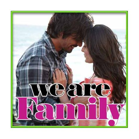Hamesha & Forever - We Are Family (MP3 and Video Karaoke Format)