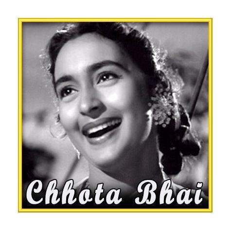 Maa Mujhe Apne Aanchal Mein Chhupa Le - Chhota Bhai (MP3 and Video Karaoke Format)