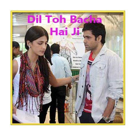 Tere Bin - Dil To Bachha Hai Ji (MP3 and Video Karaoke Format)