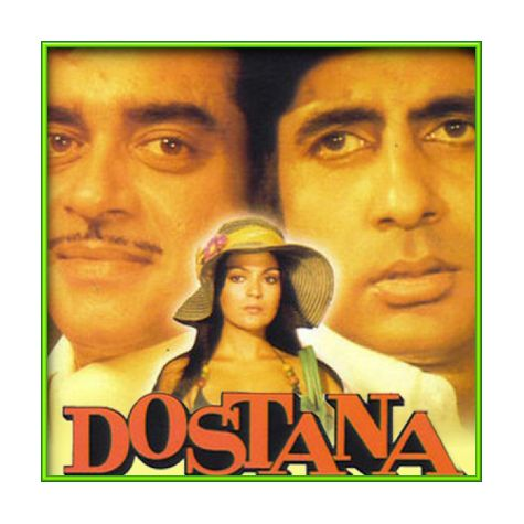 Salamat Rahe Dostana Humara - Dostana (MP3 and Video Karaoke Format)