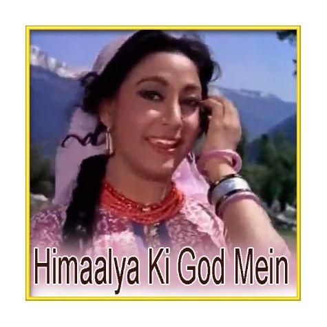 Ek Tu Na Mila - Himalay Ki Godmein (MP3 and Video Karaoke Format)