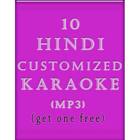 10 Customized Hindi Karaoke MP3