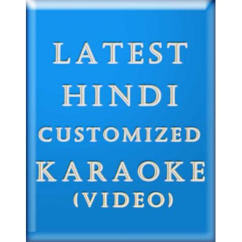 Latest Hindi Custom Karaoke (Video)