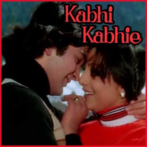 Tere chehre se nazar - Kabhi Kabhi (Video Karaoke Format)